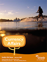 Cover of the Summer 2009 Currency Affairs